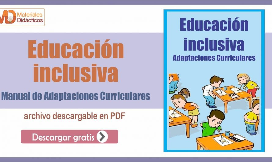 Manual de Adaptaciones Curriculares en Educación inclusiva