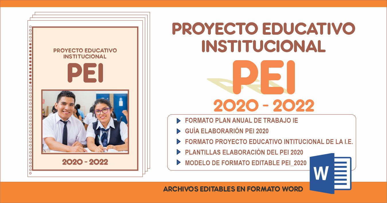 Proyecto educativo institucional PEI 2020 – 2022 en word