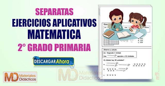 EJERCICIOS MATEMÁTICOS PARA 2° GRADO PRIMARIA
